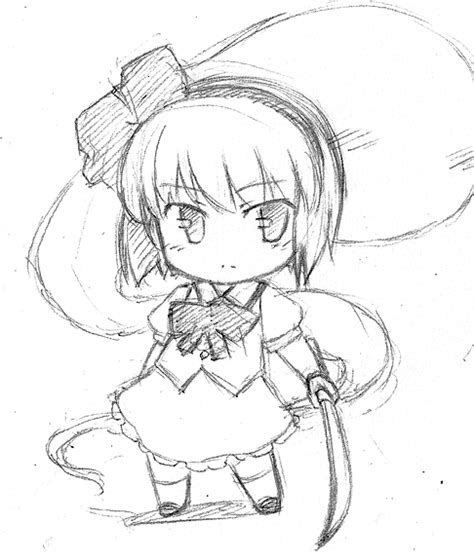 praticing  chibi  heads lenght quick sketch