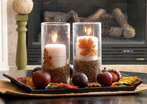 DIY Fall Coffee Table Centerpiece | Shelterness