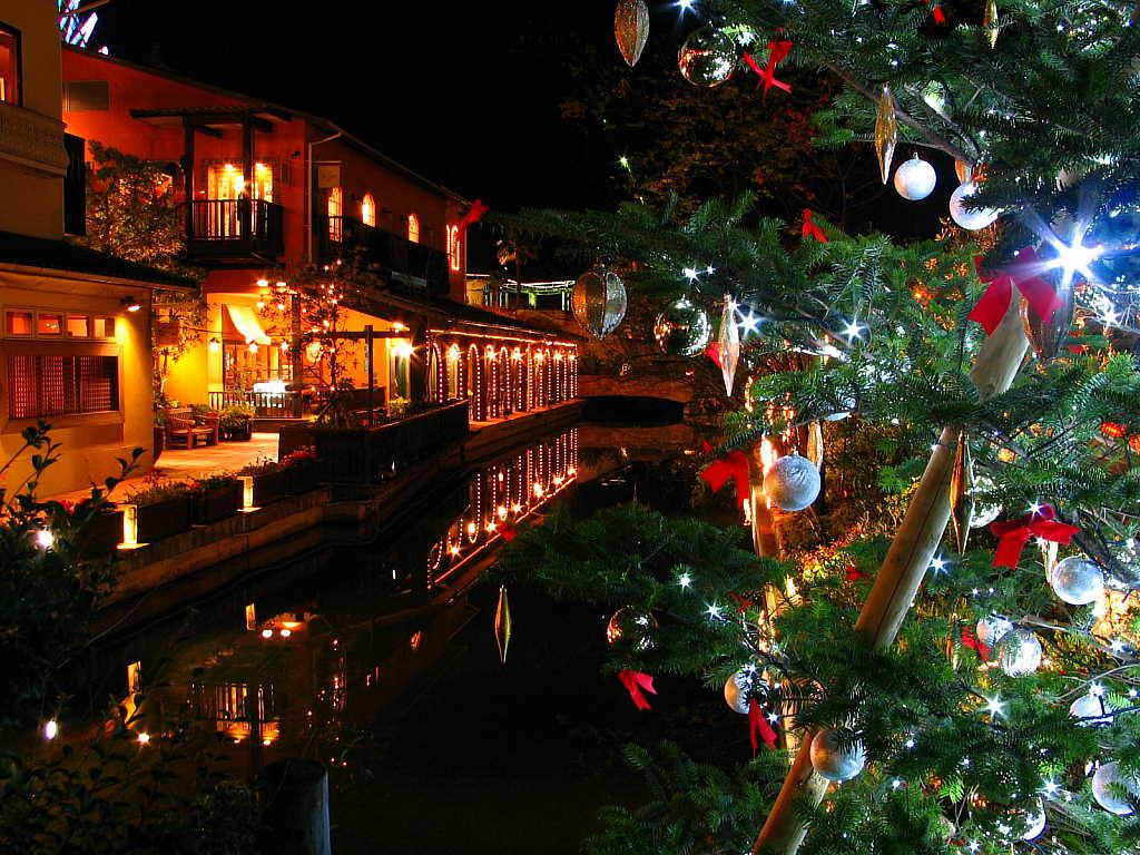 ハーバーランド モザイクのクリスマス壁紙写真 兵庫と神戸の写真ブログ