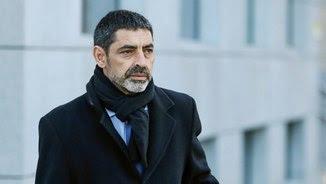 El major Josep Lluís Trapero arriba a l'Audiència Nacional per declarar sobre l'1-O (EFE)