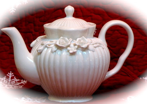 Rose Teapot by Grace Teaware