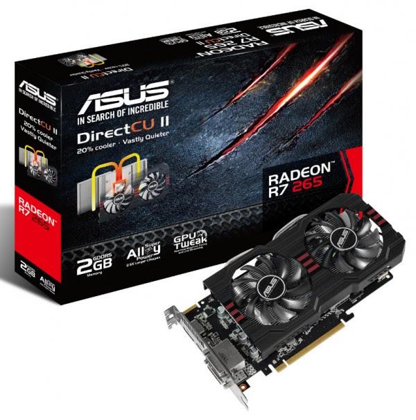 Asus Radeon R7 265 DirectCU II (1)