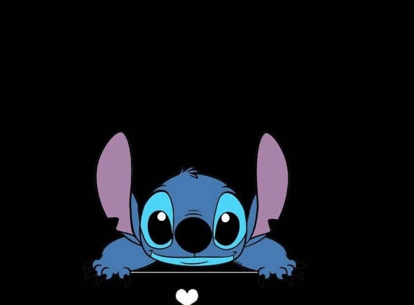 home screen wallpaper stitch aesthetic