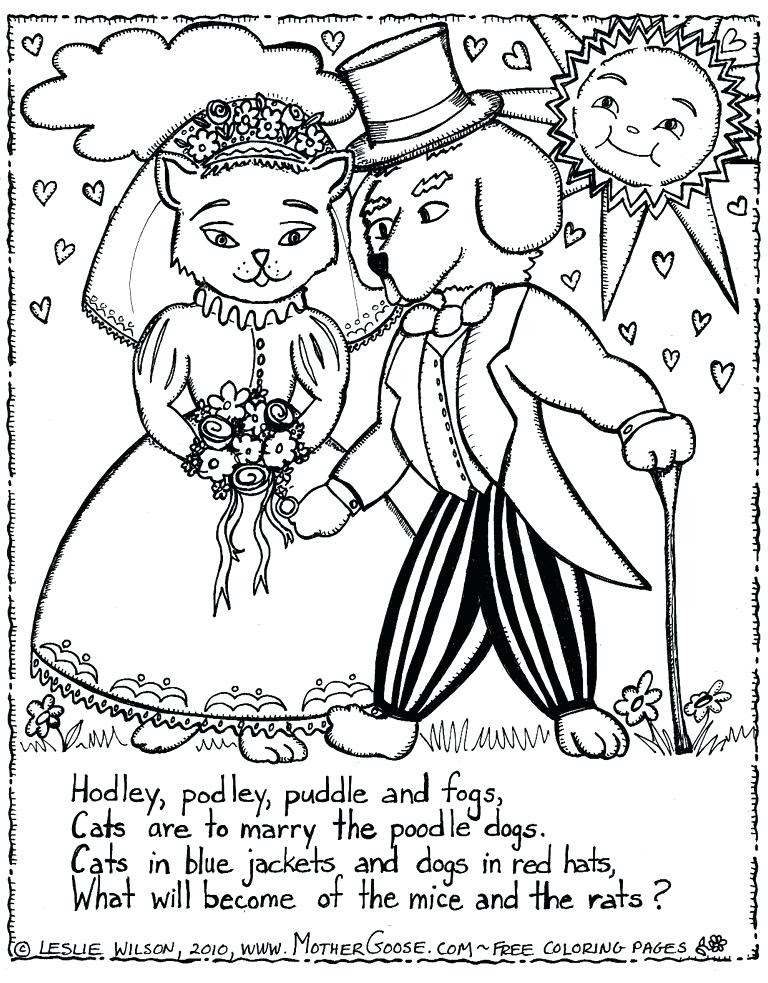 Mother Goose Nursery Rhymes Coloring Pages at GetColorings ...