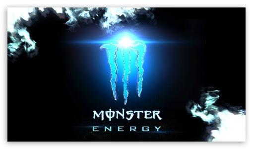 Monster Logo Wallpaper Hd
