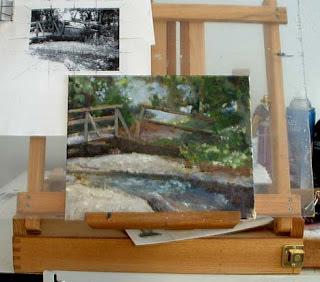 Nancy Van Blaricom ~ completed oil