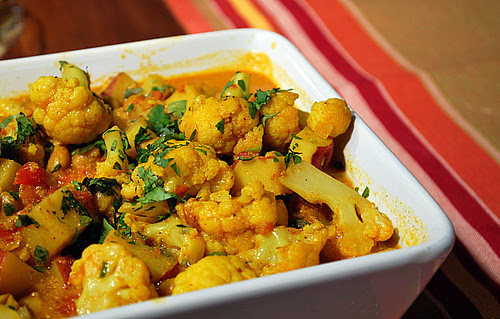Indian-Style Curried Vegetables
