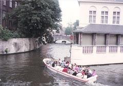 bruges canal july 1991