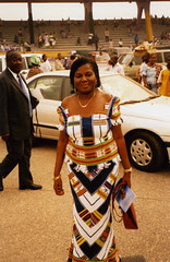 Mum at inauguration