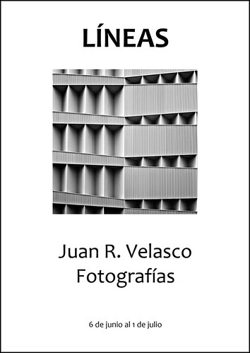 LINEAS - Exposición del 6 de junio al 1 de julio por Juan R. Velasco