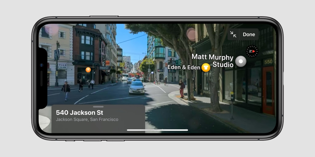 Ios 13 Brings Detailed Street View Imagery To Apple Maps