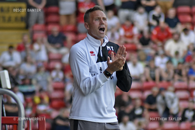 Matthew Taylor Pleased With Walsall's Ruthless Display