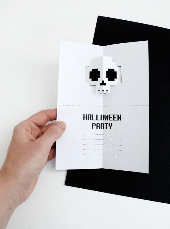 Открытка или пригласительный на Хеллоуин (Diy)