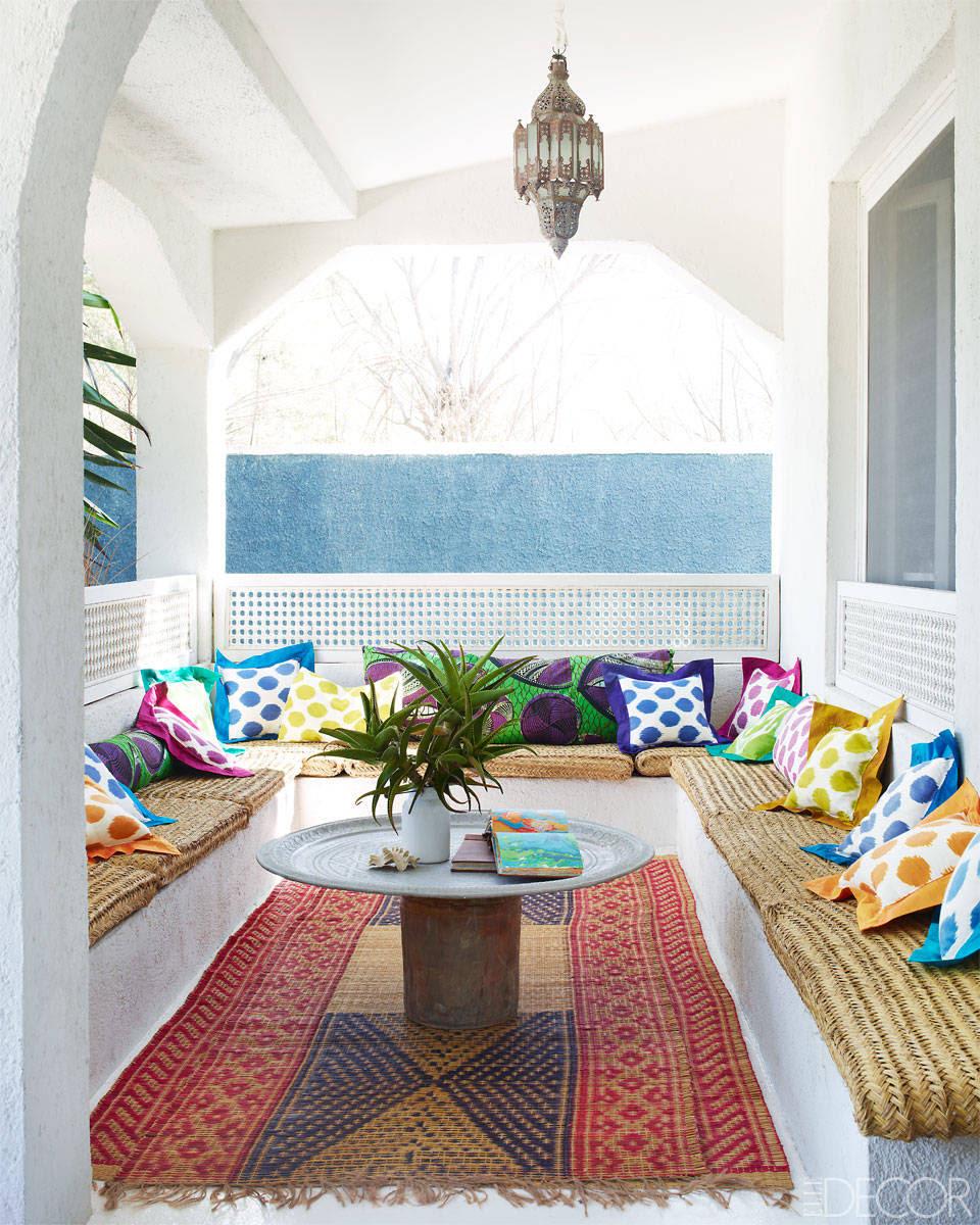casa con toques arabes