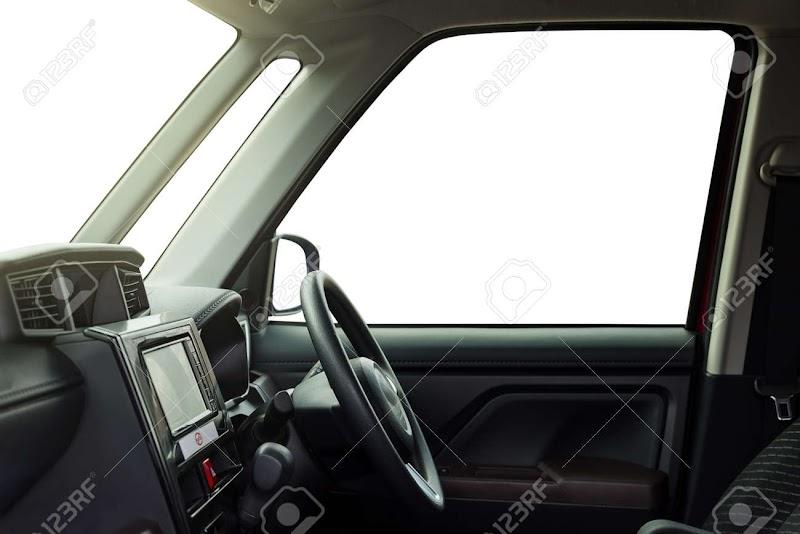 Car Interior Drivers Seat