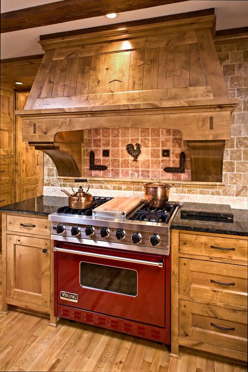 are these knotty alder cabinets stained? if so, what stain ...