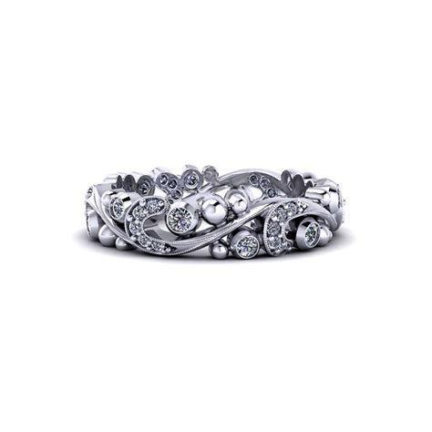 Paisley Diamond Band   Jewelry Designs