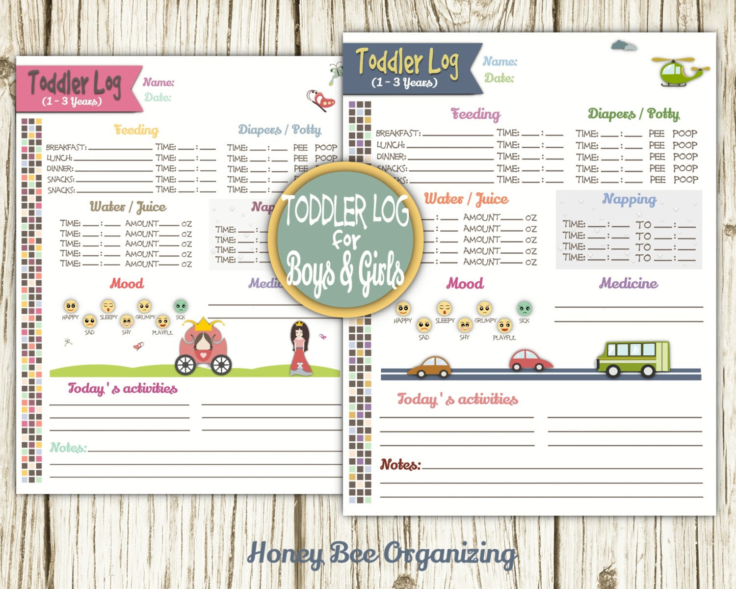 Nanny Daily Schedule | Daily Planner