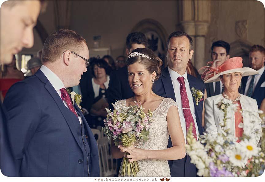 Emotional wedding ceremony vows - www.helloromance.co.uk