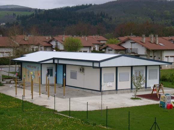 Casas de madera prefabricadas modulos prefabricados barcelona - Modulos de casas ...