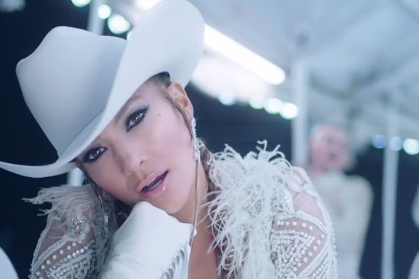 f45666eee10 J.Lo Is White Hot, Bootytastic and on a Stripper Pole in New 'Medicine'  Music Video