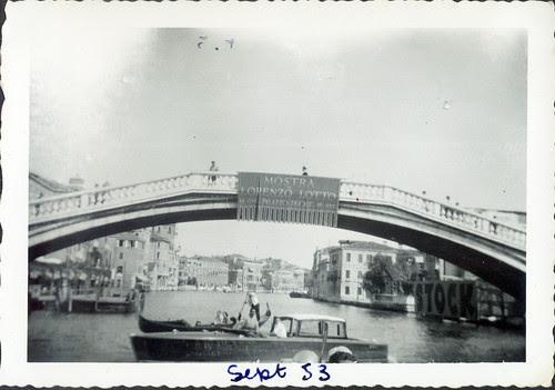 Venice Sept 1953