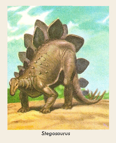 Golden Stegosaurus