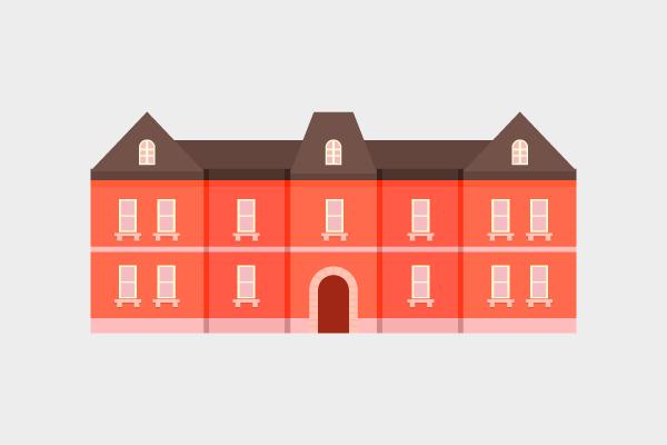 住宅 街建物系イラスト専門サイトtown Illust
