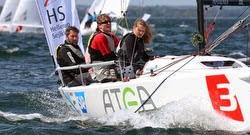 J/70 sailing Danish Sailing Leage- ATEA sponsor