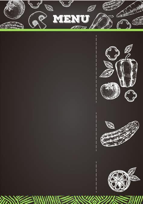 Creative Menu Background Material, Creative, Black