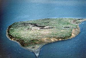 Island off the coast of Nushagak Peninsula, To...
