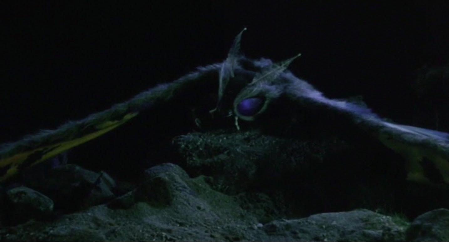 Fallen warrior Mothra.