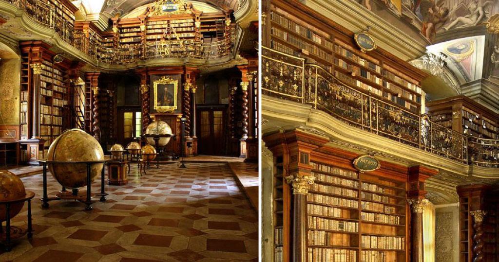 A mais bela biblioteca do mundo fica em Praga 04