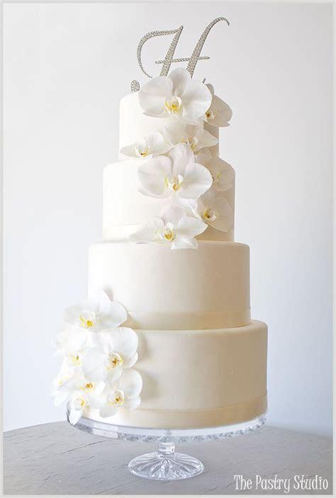 Orchid Wedding Cake on Pinterest