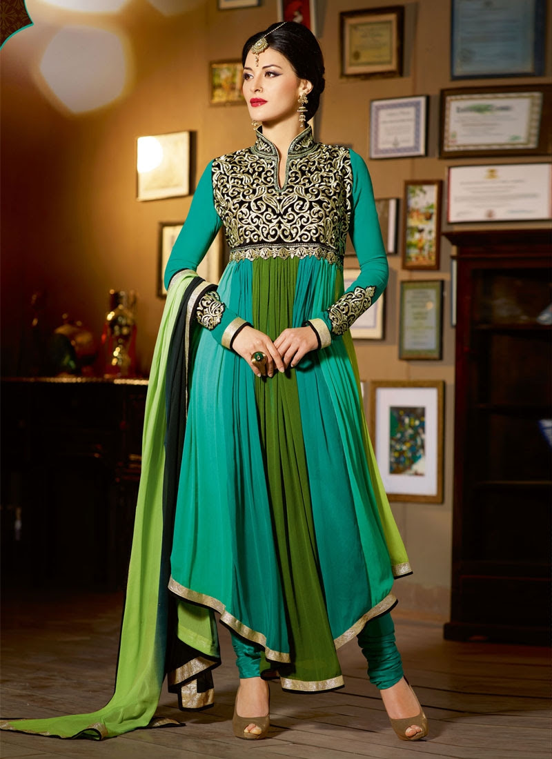 salwar kameez neck designs with laces