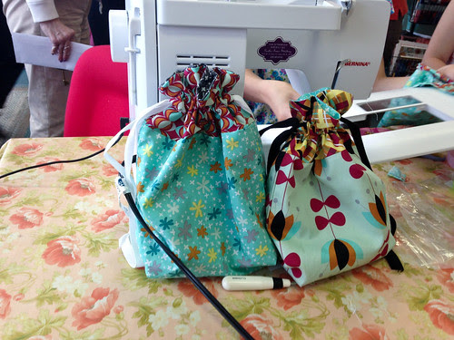 Drawstring Bag Workshop by Jeni Baker