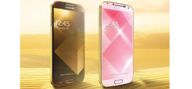 gold samsung galaxy s4