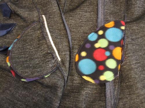 Fleece Lined Pockets