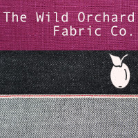 "The Wild Orchard Fabric Co."" height="