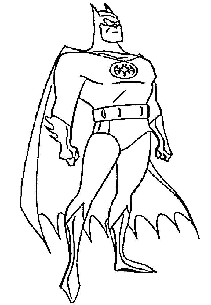 Imprimir Gratis Dibujos Para Colorear Superhéroes