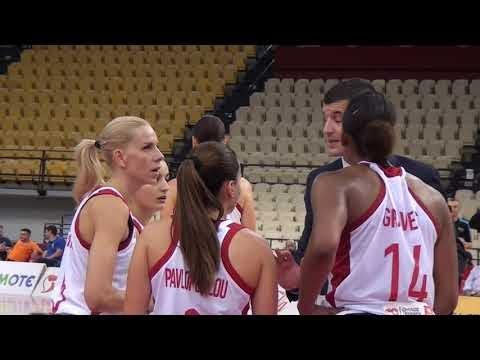 Η...παρακάμερα του αγώνα Ολυμπιακός-Ναμούρ για Euro Cup γυναικών