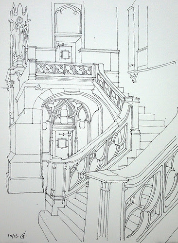 Churchyard Stair by James Anzalone