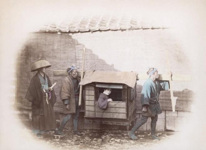 Cuộc sống Nhật Bản xưa qua những bức ảnh màu - Ảnh 14.