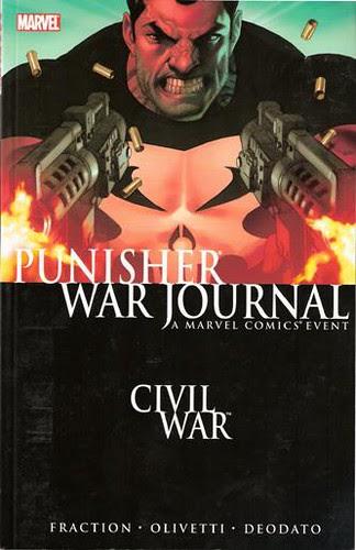 Punisher War Journal, v. 1: Civil War cover