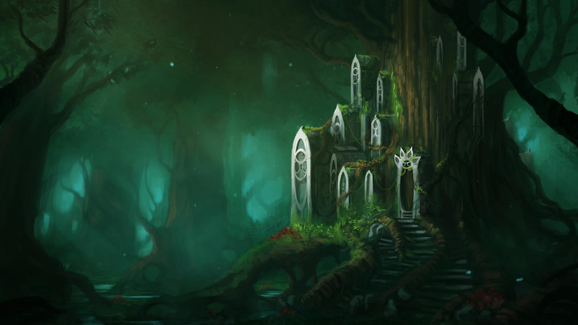 Download 6000 Wallpaper Abyss Fantasy HD
