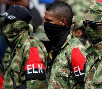 Guerrilleros desmovilizados del ELN.