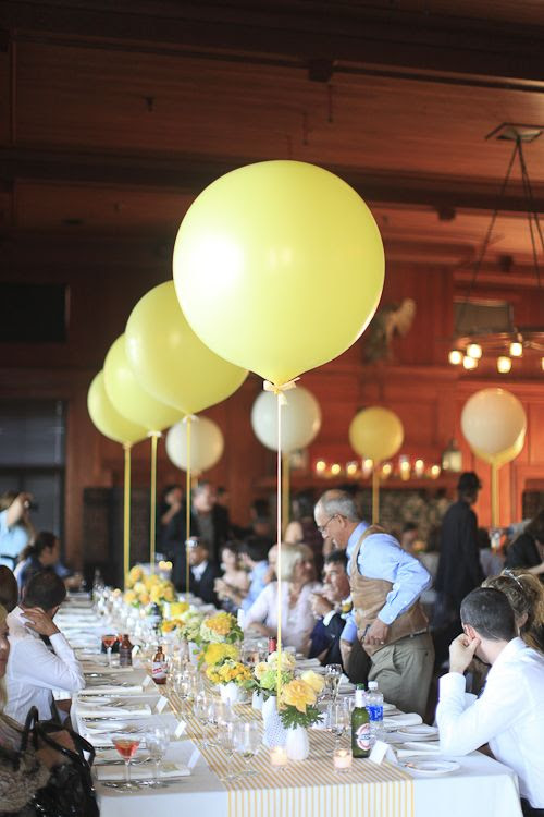 Balloons are such an easy way to make a stylish statement! Go for the 30-inch+ for an attention-grabbing tabletop design or photo prop.
