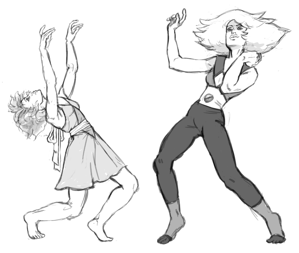 Lapis dancing with Skinny Jasper. Got two dance requests, so I averaged them out.