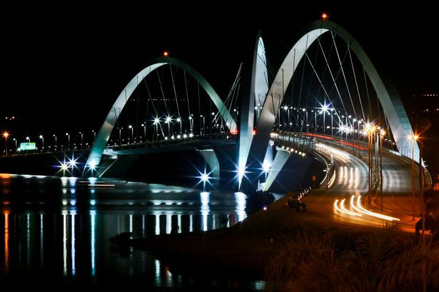 Juscelino Kubitschek Bridge in Brasilia