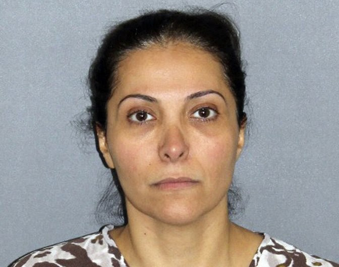 FILE - This undated provided by the Irvine Police Department shows Meshael Alayban, 42, who was arrested July 9, 2013 in Irvine, Calif. The Saudi princess is scheduled to appear in a Southern California courtroom Friday, Sept. 20, 2013 to answer to charges that she took her maid's passport and forced her to work long hours for low pay. Alayban is expected to be arraigned on one count of human trafficking, and faces up to 12 years in prison if convicted. (AP Photo/Irvine Police Department, File)